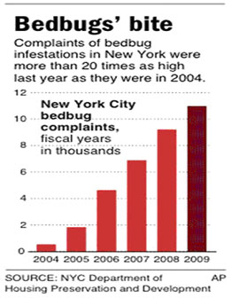 Total Bed Bug Call Volume